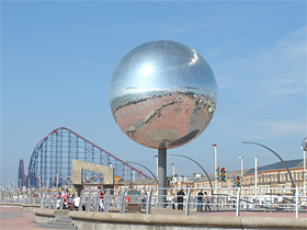 South Shore Blackpool Promenade